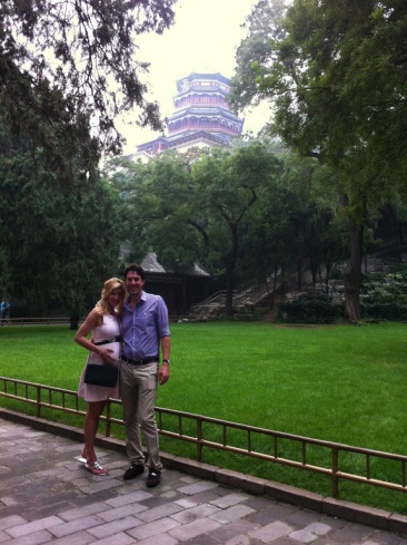 We finally made it to the Summer Palace.  Probably would have enjoyed it more when I wasn't almost 8 months pregnant.  LOTS of hills!